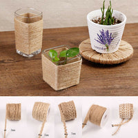 11Styles Vintage 5M Natural Hessian Jute DIY Twine Rope Decor Craft Party Home