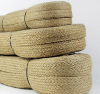 Natural Jute Cord Natural Flat Sisal Hessian Burlap Twine String Cord 15-35 mm