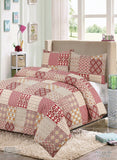 Luxury Printed Duvet Covers Set with Pillow Case Percale Quality Quilt Cover Set