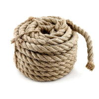 Hemp Rope Nature 10mm x 10 Meter, Cord, Tau, Rope, Juteseil, Cord