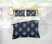 3D Flower Black White Quilt Cover Duvet Cover Comforter Cover Pillow Case 22