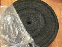 "100 Yards BLACK Burlap Ribbon ... 2"" wide Brand New Roll"