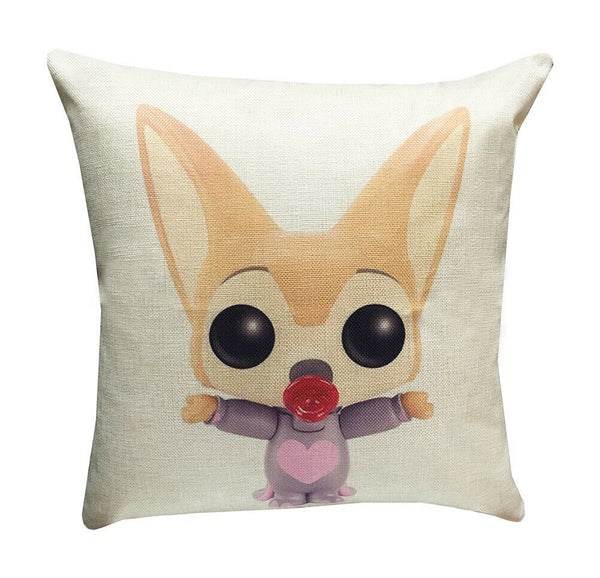 Zootopia Characters 17-inch Decorative Throw Pillow Cover Case
