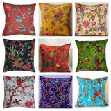 New Indian Art Handmade Real Cotton Kantha Pillow Case Cushion Cover Throw