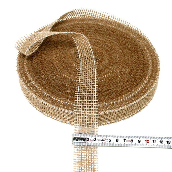 Jute Band Nature Hart, 30mm Wide - 40 Meter, Nice Price