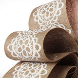 Lace & Rustic Ribbon 2 1/2 inch wide select length