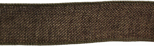 (3.8cm , Chocolate Brown) - Kel-Toy Wired Faux Burlap Ribbon, 3.8cm by