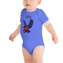 Load image into Gallery viewer, USA Baby Bodysuit