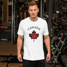 Load image into Gallery viewer, Canadian Supporter Short-Sleeve T-Shirt