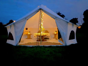 Group Activity Pack + Mega Bell Tent Stay - Holme Pierrepont Nottingham