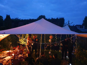 Garden Party Canvas Canopy Hire