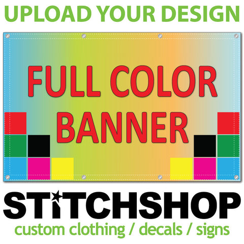 Custom Vinyl Banner (select your size)