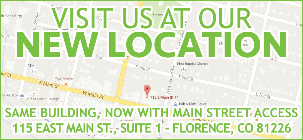 NEW LOCATION - 115 E. MAIN ST., SUITE 1