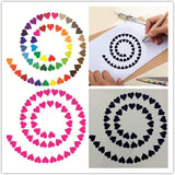 12pcs Mandala Painting Stencils Reusable Template for DIY Painting Art Projects Floor Airbrush and Walls Art, Just Let Your Imagination Run
