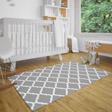 Thread Nebula Super Soft Toddler Play Mat | Baby Crawling Mat for Infants | Large Foldable Kids Play Rug 80 x 60 Inch for Nursery & Playroom