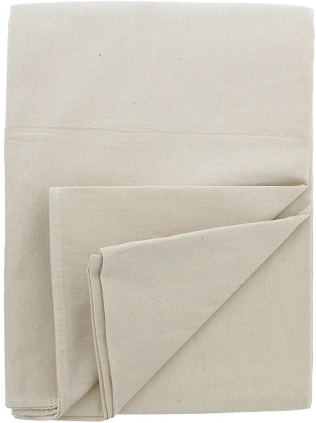 ABN Canvas Drop Cloths - 4 by 12 Ft Painters Drop Cloth Runner Floor Cover for Painting or Drop Cloth Curtains