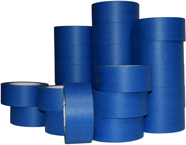 Case of 24-2 Inch Blue Painters Tape - 60 Yards/roll