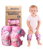 Baby Knee Pads for Crawling (2 Pairs) I Protector for Toddler, Infant, Girl, Boy