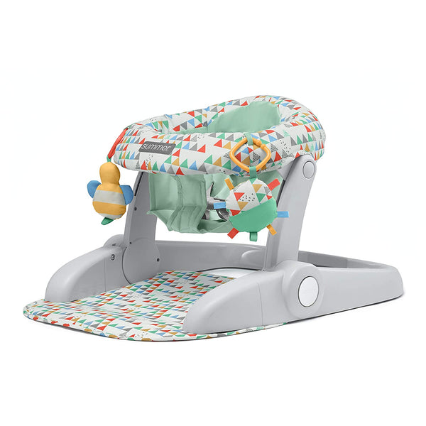 Summer Learn-to-Sit 2-Position Floor Seat, Multi