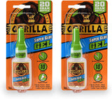 Gorilla Super Glue Gel, 20 Gram, Clear, (Pack of 1)