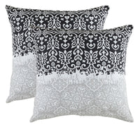 TreeWool, (2 Pack) Marvel Pillow Cushion Covers in Cotton Canvas Trellis Accent