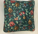 Home Décor Floral Accent Pillow Knife Edge Polished Cotton Fabric 14 x14