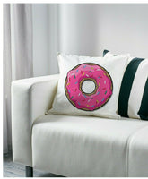 Donut Doughnut Sprinkles Icing Decorative Accent Pillow Cushion Cover Home 20""