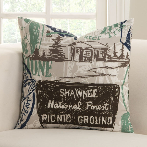 'Parks and Rec' Accent Pillow