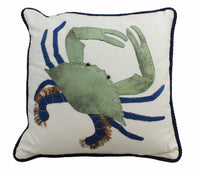 "King of the Chesapeake Accent Pillow 20""L Sealife Animals Decor Bedroom"