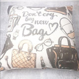 Decorative Home Bedding Accent Pillow Case Cover NWOT