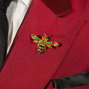 Ryan Bee Pin Red/Green
