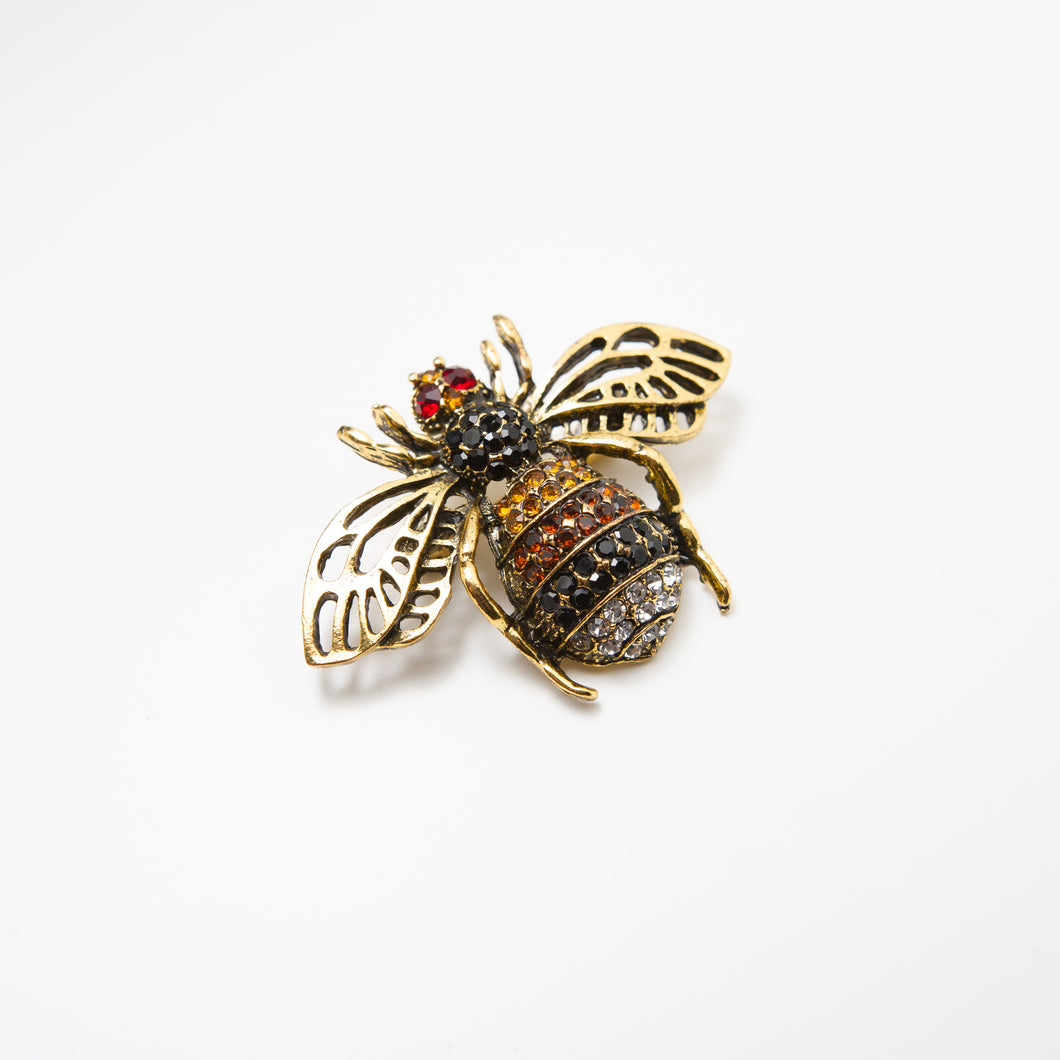 Dwayne Bee Pin Gold