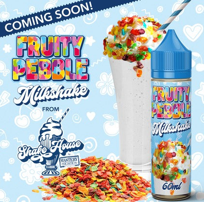 Shake House Fruity Pebble Milkshake