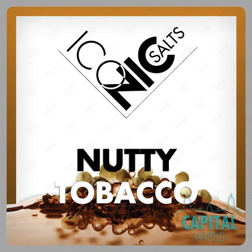 Iconic Nutty Tobacco Nic Salts
