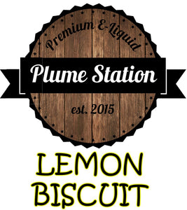 Plume Station Lemon Biscuit