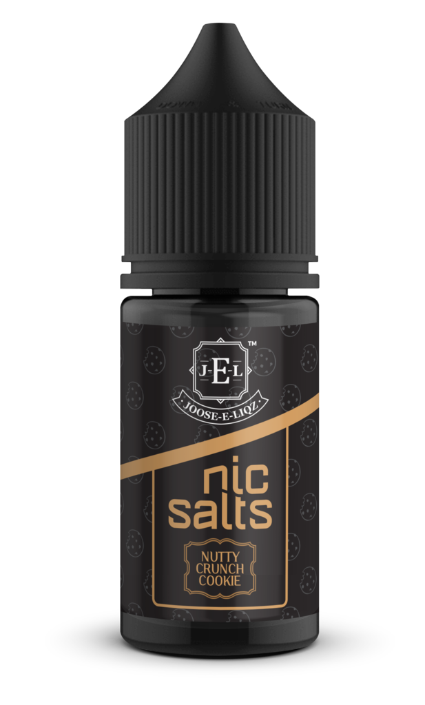 JEL Nutty Crunch Cookie Nic Salts