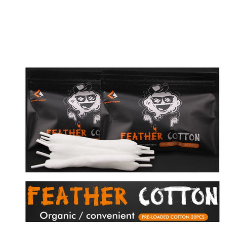 Geekvape Feather Pre-Loaded Cotton