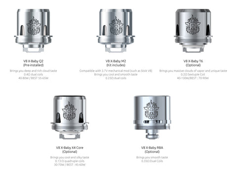 Smok X-Baby Replacement Coils