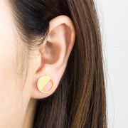 Modern Stud Earrings