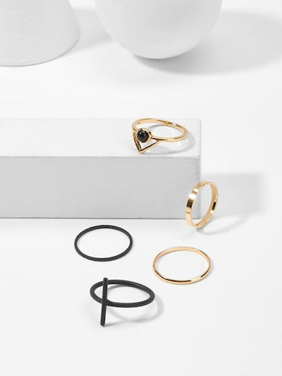 Bar Ring Set