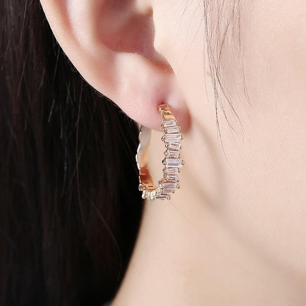 Swarovski Crystal Abstract Crystal Dust Earrings