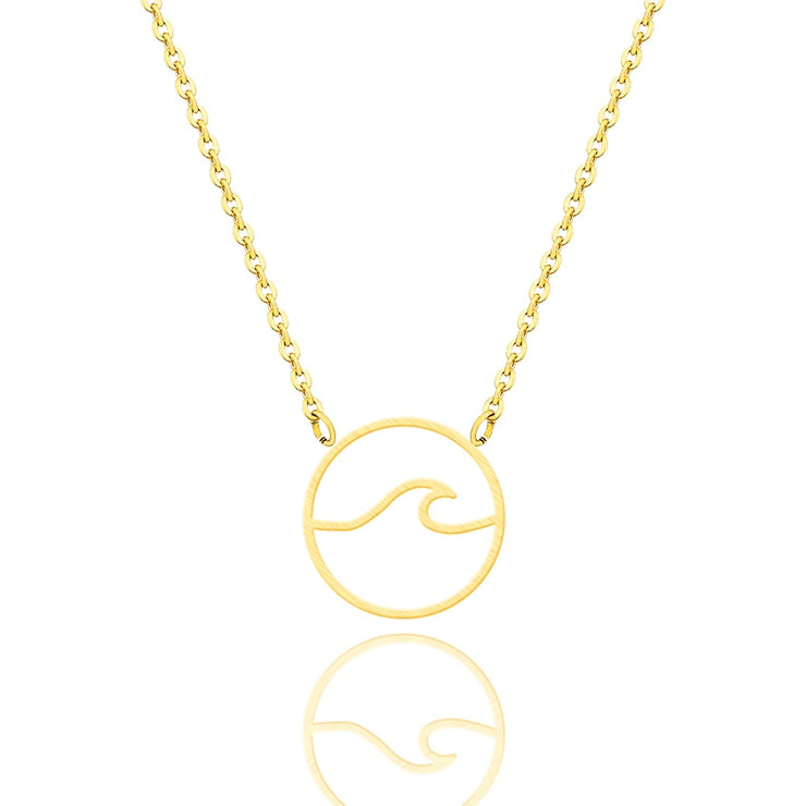 Summer Wave Necklace