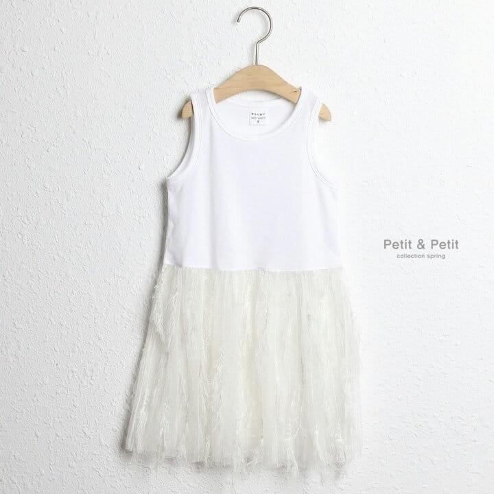 Feather Lace One-Piece - Kleid für Baby und Kinder- Little Foxx Concept Store