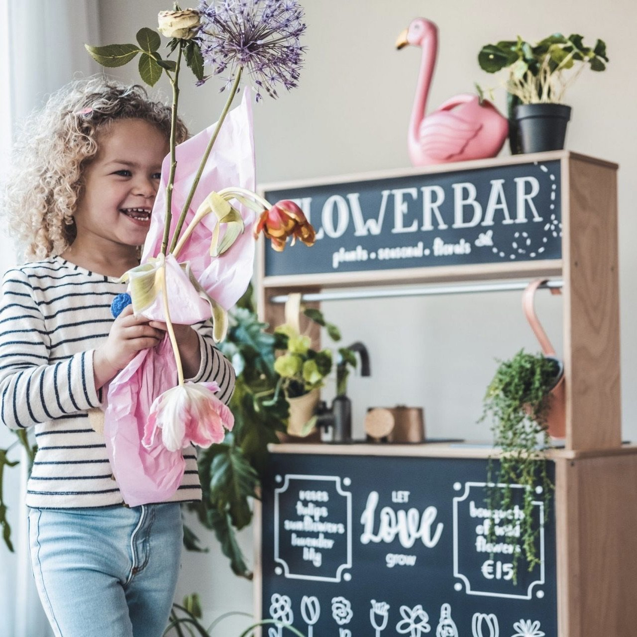 Flower Bar Sticker Set Ikea Düktig für Baby und Kinder- Little Foxx Online Concept Store