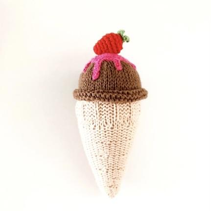 ᴺᴱᵁKnitting ice cream – chocolate für Baby und Kinder- Little Foxx Concept Store