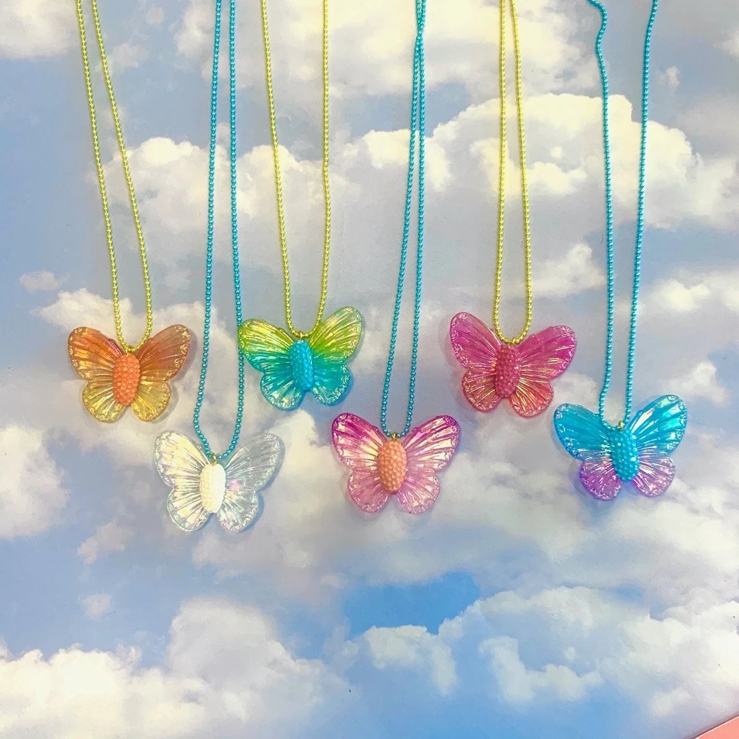 Limited Ombre Butterfly Necklace für Baby und Kinder- Little Foxx Online Concept Store