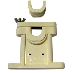 Beige mount bracket with wing nut shown.