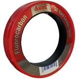 Small circular packaging made of red plastic with red and silver Ande label.