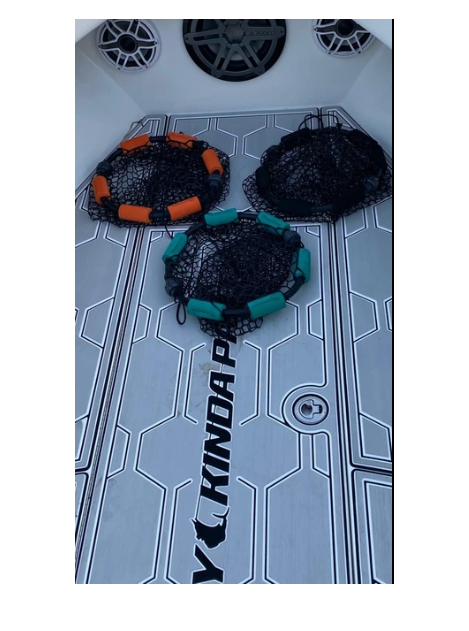 ChummyHoop Teal, Orange and black colors
