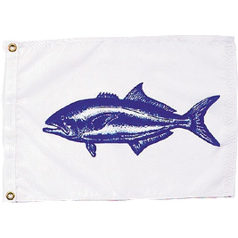 Bluefish on white background